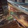 手作り結婚指輪.com大阪工房の窓から見た夜景