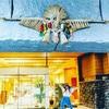 こんな時こそ『旅気分』♪♪♪ 神住まう町【宮崎・高千穂】 天手力男命がお出迎え~w 高千穂神社のそばにある『ホテル高千穂』