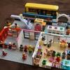 レゴで幼稚園作りました