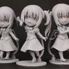 【ごちうさ フィギュア】 『ごちうさ』のチノ、ココア、リゼの3人がミニフィギュアになって登場&原型公開!!【プラム フィギュア】