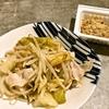 白菜と豚バラ肉蒸し  (キャベツver.)(中国妻料理)