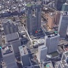 グーグルアース「東京」観光スポット
