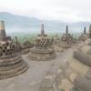【インドネシアのジャワ島の世界遺産1】世界三大仏教の一つボロブドゥール寺院遺跡群を見学!!