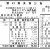 日本サムスン株式会社 第43期決算公告