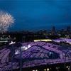 夏のはじまり、紫のペンライト、明治神宮野球場。