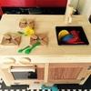 DIY おままごとキッチン移設