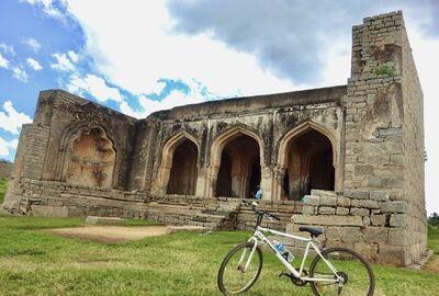 自転車で締めくくるハンピのハッピーな景色たち【2019インドディワリ旅:ハンピ編⑦】