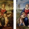 ラファエロ「ひわの聖母」 あまりにも残酷な表現
