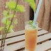 今が旬!岡山県産白桃を贅沢に使ったピーチベリーニ