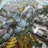 完成】破壊の創造神・シヴァのページが塗りあがりました☆パズドラ塗り絵より