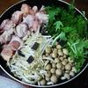 水菜と鶏肉の鍋