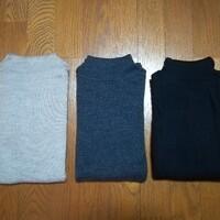 【ユニクロ】3色そろった定番トップス