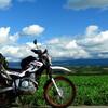 旅の相棒!バイクの紹介。