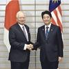 マレーシアに巡視船2隻を供与…首脳会談で表明