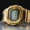 【レビュー】カシオ G-SHOCK GMW-B5000 TFG-9JR フルメタル 入手困難な限定ゴールドモデル