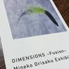 DIMENSIONS~Fusion~織作峰子先生の写真展に行ってきました