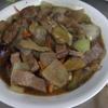 幸運な病のレシピ( 1958 )朝:ナス炒め(ローストポーク)、鮭、塩サバ、鶏もも焼き、味噌汁(キャベツ)、マユのご飯