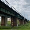 中央線の矢田川橋梁