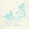 リスと雪だるまのクリスマス(10)