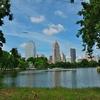 「ルンビニー公園」~バンコクの中心街のオアシス、マラソン大会も定期的にやっているよう!!