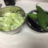 野菜にカブレた!と夜の楽しみ。