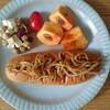 休日の朝食~惣菜パン~