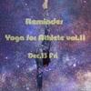 【リマインダー】Athlete Yoga vol.11