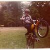 自転車でウィリーしたい