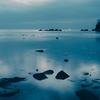 ホタルイカもいた今朝の雨晴海岸