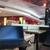 オーストラリアの空港で食べて飲んでThinkPad X1 Carbonで快適に作業