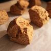 ヴィーガンスコーンレシピ:ココナッツオイルと全粒粉使用  #お家カフェ #元気なスコーン
