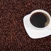 コーヒーを飲んでました。