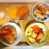 かぼちゃコロッケ、がんも煮物、チキン、鮪ソテー