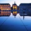 フランス&スペイン旅「ワインとバスクの旅!幻想的でミステリアス!ボルドーのブルス広場に現れる水鏡」