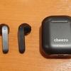 【cheero Wireless Earphones Light Style 2】超軽量な完全ワイヤレスは長時間の安定運用が可能 #サンプル提供