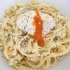 外国人奥様が作る美味しすぎるポテサラで作る「カルボナーラ」