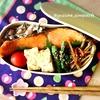 鮭弁当*めざせ30分以内!簡単で見た目も可愛く!?女子高生のお弁当