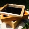 鏡のフレームを自作|バエる!挽き込み留め接ぎ(かんざし)の治具で作った木枠の鏡