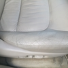 自動車内装修理#153 トヨタ/ランドクルーザー100 シグナス 革シート変色・破れ・ひび割れ+ステアリング擦れ
