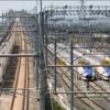 8月22日長野新幹線車両センターの状況
