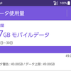 【激烈大ピンチ】今月から月50GBプランなのに早くも47GB使ってしまった気配