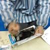 3月の体験教室レポート3・スライムづくり