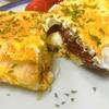 【1食48円】グラスフェッドバターとチーズのオムレツトーストの簡単レシピ
