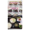吉野家松戸東口店で、NEW!HAM&EGG納豆定食の朝食。
