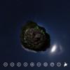 山頂でテント泊 月と満点の星に感動する #360pic