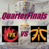 Worlds2019 QuarterFinals Day1 FPX vs FNC【対戦結果まとめ】
