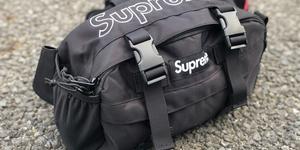 Supremeウエストバッグをカメラバッグにしてみた