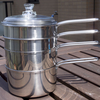 【暮らしの道具】石黒智子の重ね鍋でリスクヘッジする休日のスクランブルエッグ