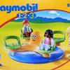 Playmobil 1・2・3 9379 メリーゴーランド