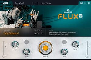 UJAM がマルチエフェクト・プラグイン、Finisher Fluxをリリース